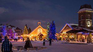 winter getaway in blue mountain